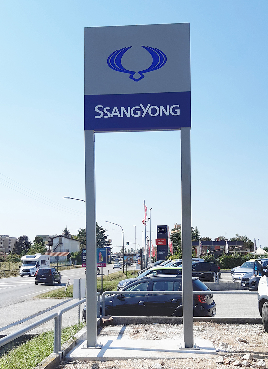 Insegna SsangYong